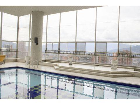venta apartamento duplex los balsos el poblado con piscina privada