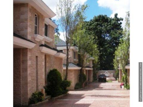 casa en alquiler en zona 14 cerca avenida de las americas