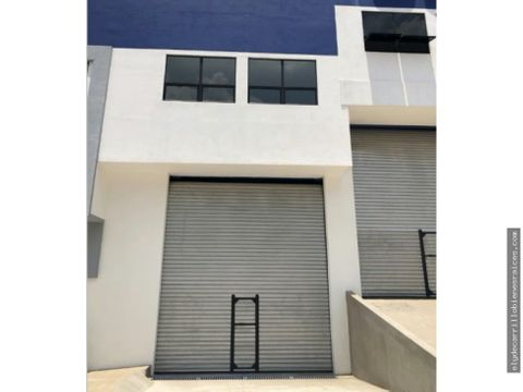 bodega en alquiler en el naranjo 485 mts2 condominio