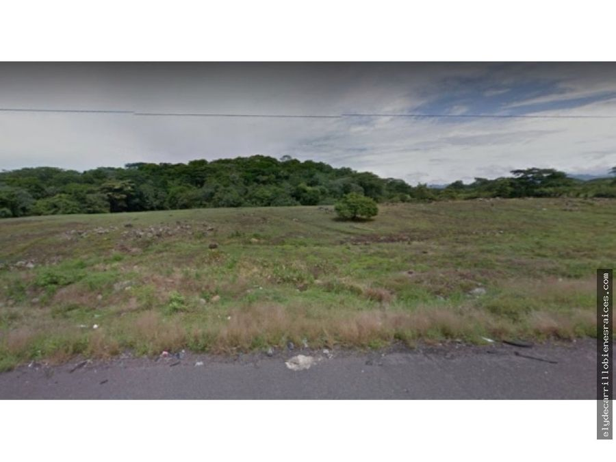 venta de terreno orilla de autopista puerto quetzal 78 mz
