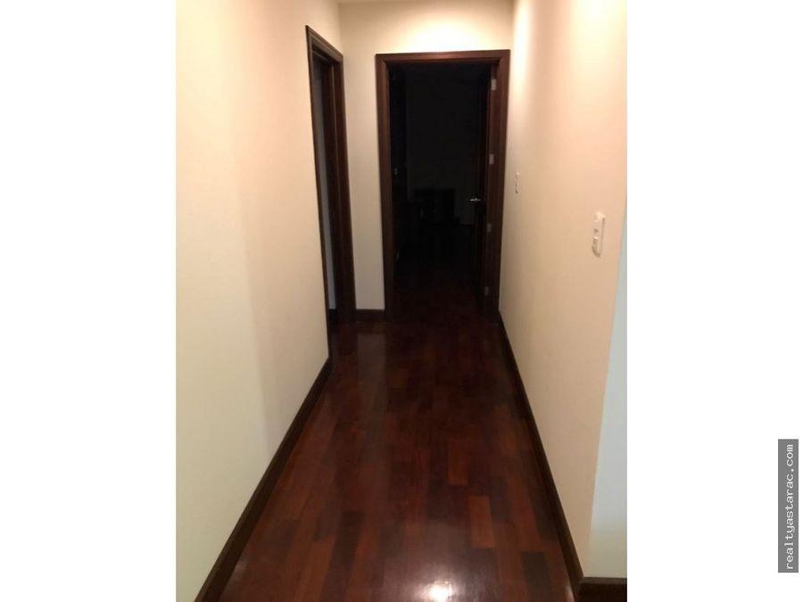 apartamento amueblado y equipado en zona 10