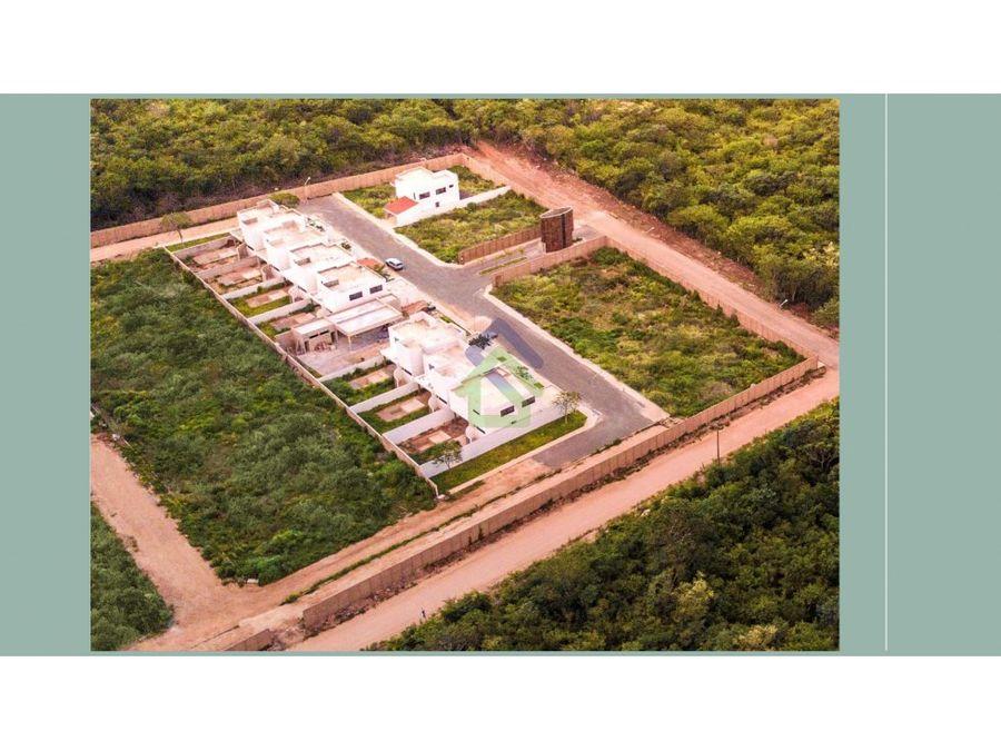 excelentes casas en privada en conkal