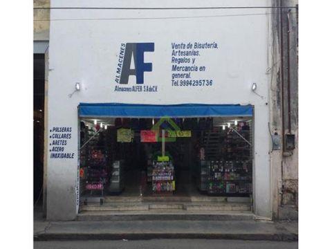 local comercial en renta en el centro de merida