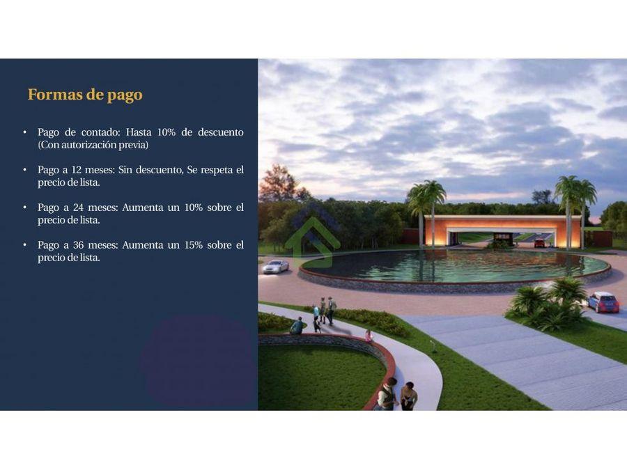 la reserva lotes residenciales