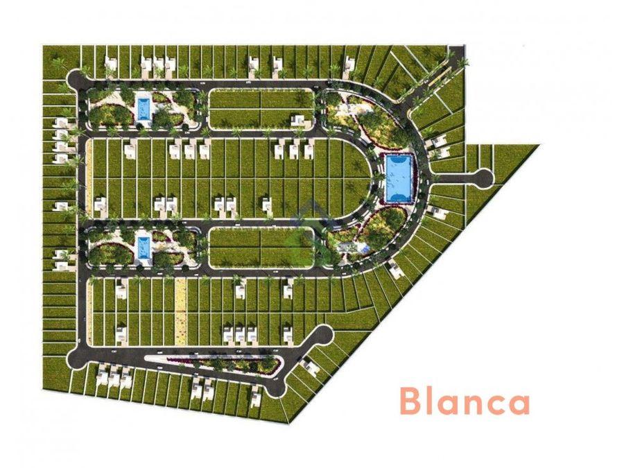 blanca terrenos residenciales