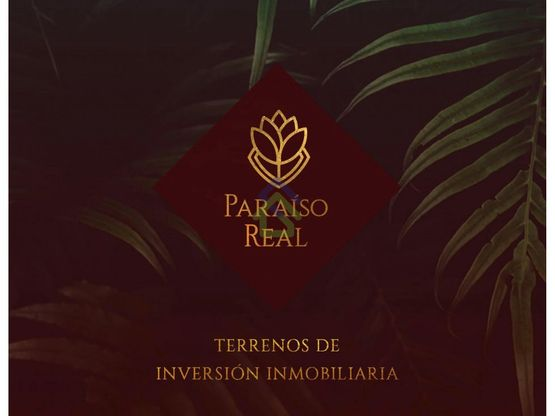paraiso real lotes de inversion