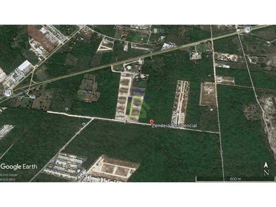 zendera terrenos residenciales en privada en conkal