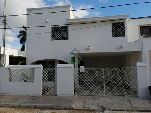 casa en renta en villas chuburna