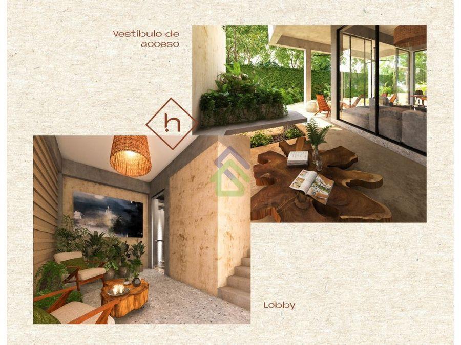 studios by helia departamentos en temozon norte
