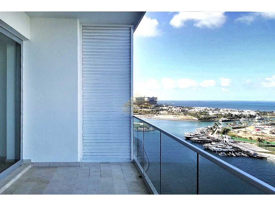 venta lujoso departamento en puerto cancun