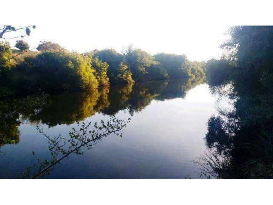 campo 53 has con hermosa costa de arroyo