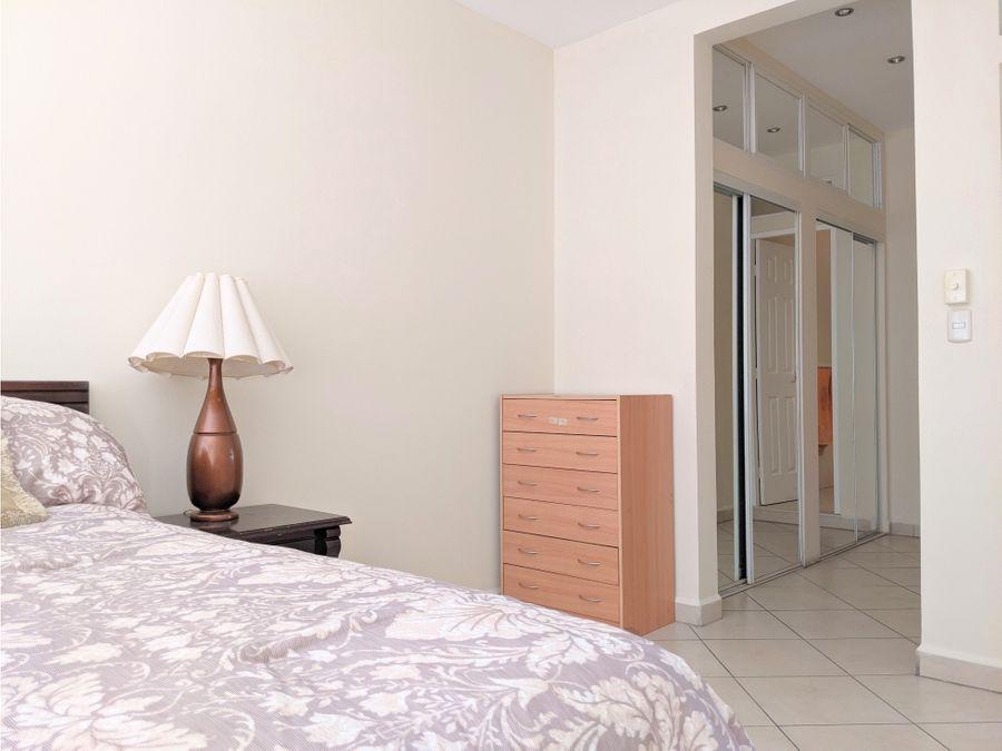 alquiler apartamento amueblado san ignacio 3 hab