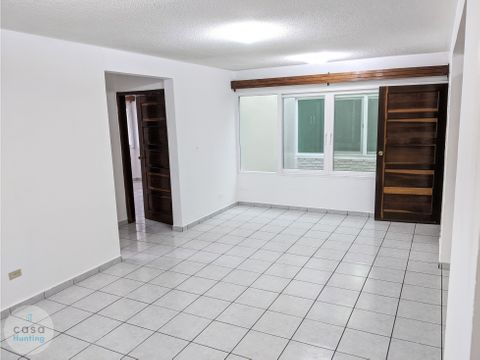apartamento en renta tepeyac 1 hab