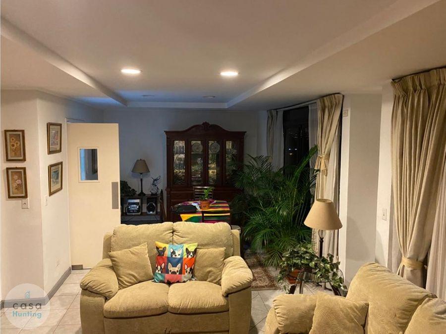 alquiler de apartamento amueblado la cumbre 3 hab
