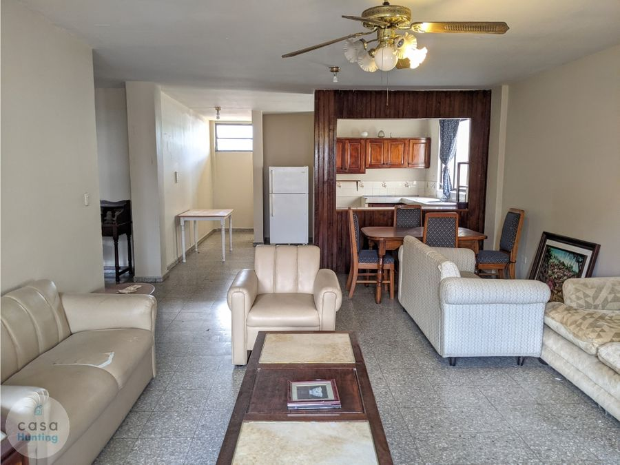 alquiler de apartamento amueblado col tepeyac 2 hab