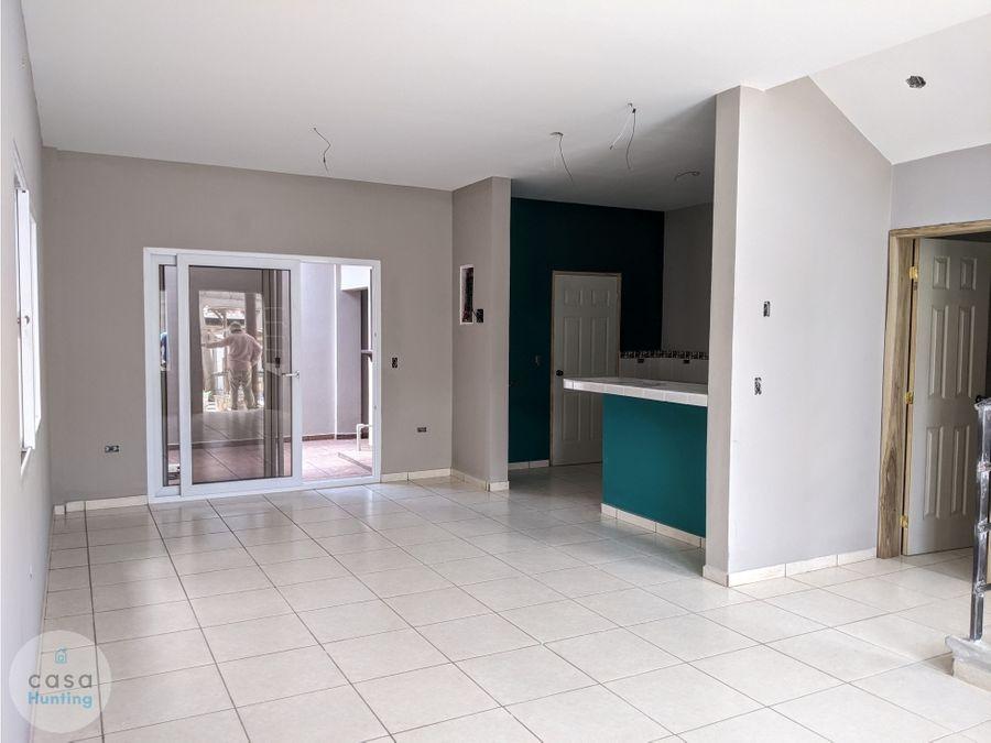 casa en venta res las casitas 3 hab