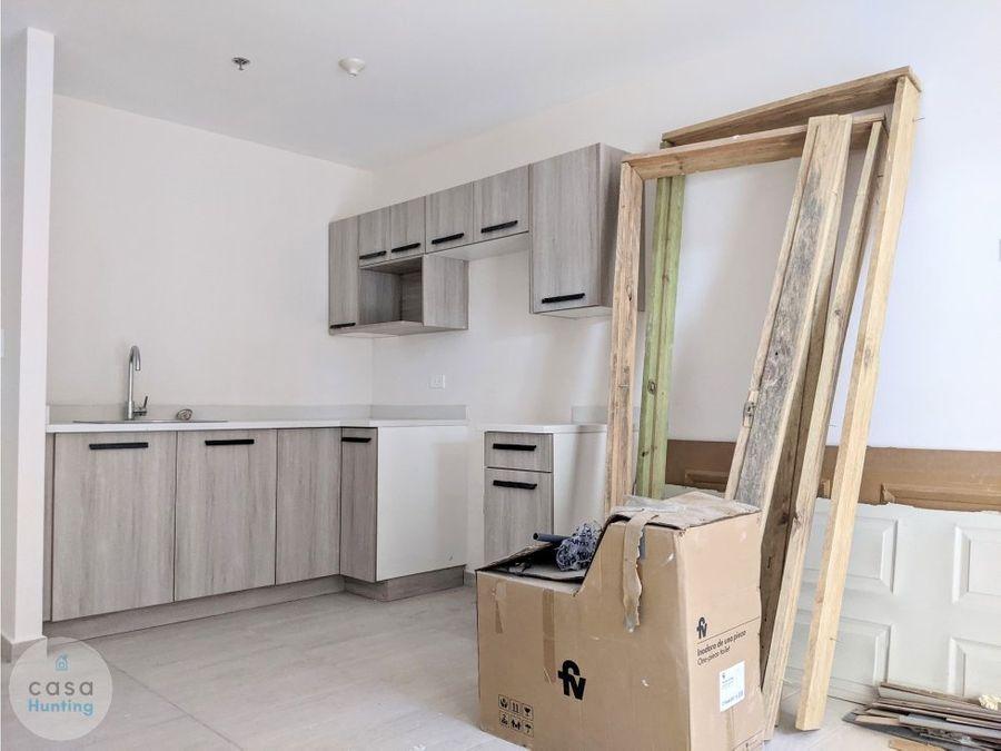 apartamento en renta col san ignacio 1 hab studio