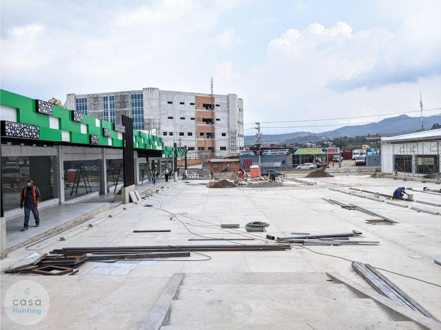 local comercial en renta paseo verde 5840 m2 frente unicah