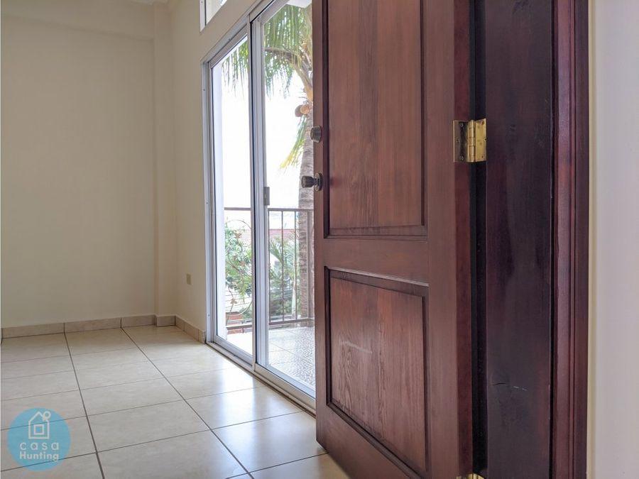 alquiler de apartamento san ignacio 2 hab
