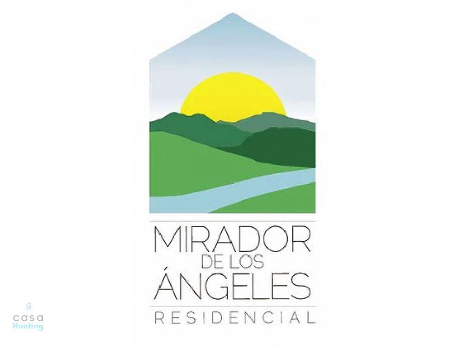 casas en pre venta mirador de los angeles modelo morazan