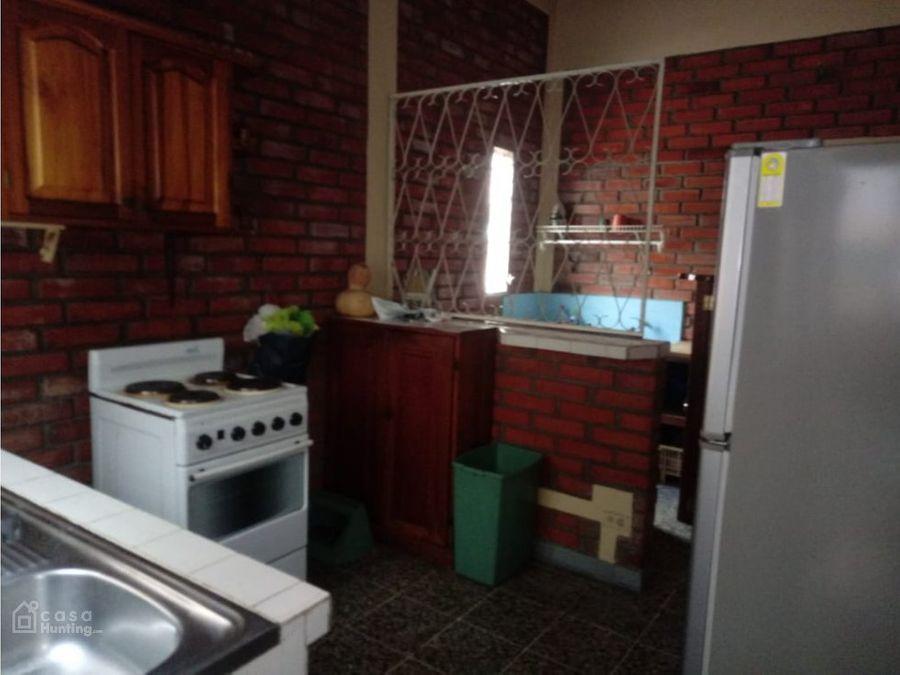 renta de apartamento amueblado en col san rafael