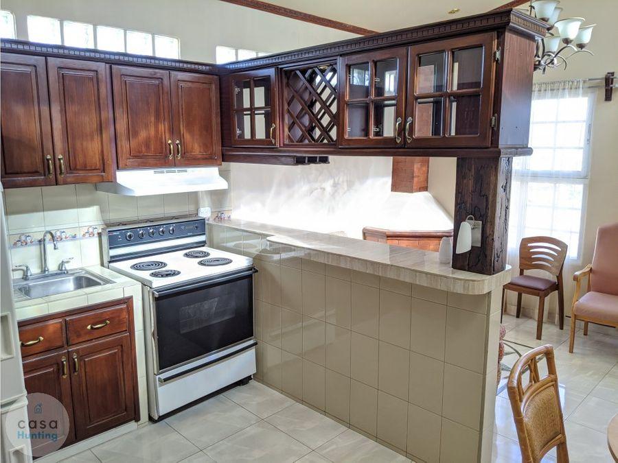 alquiler de apartamento amueblado 1 hab