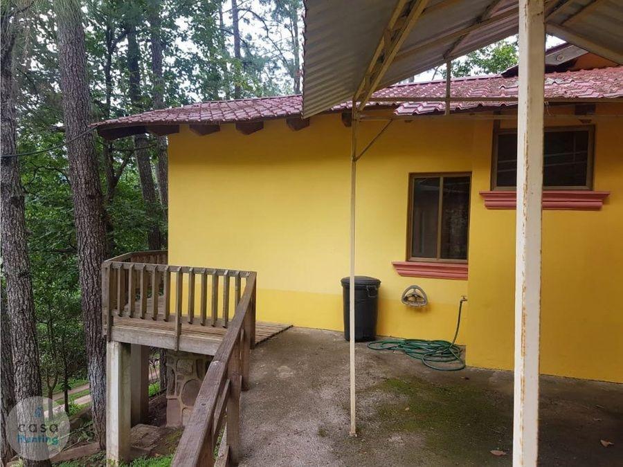 casa de campo amueblada en renta santa lucia fm