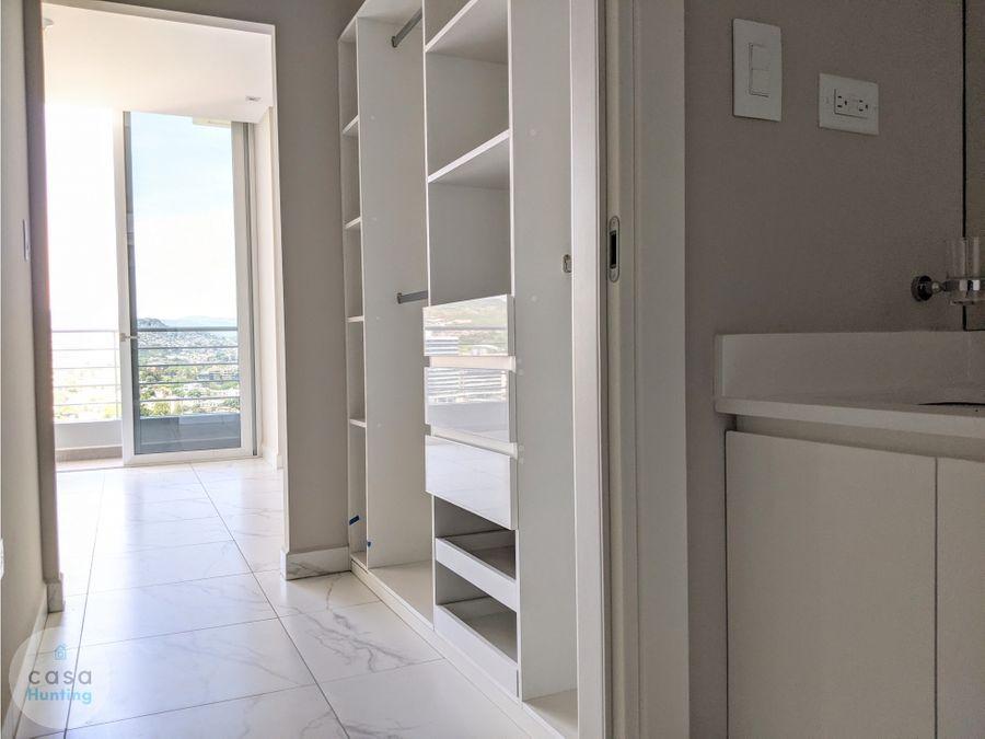 venta de apartamento en nivo lomas del guijarro 82 m2 2 hab