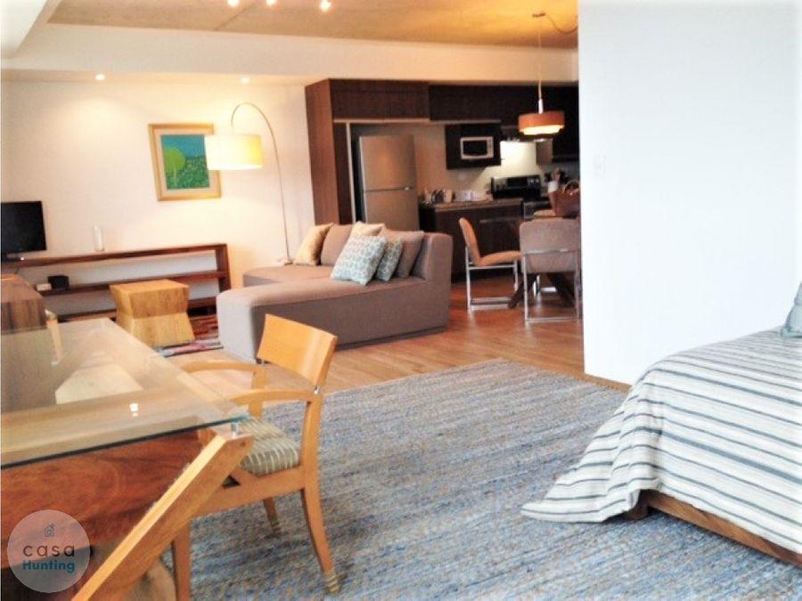 apartamento amueblado en renta green towe 1 hab