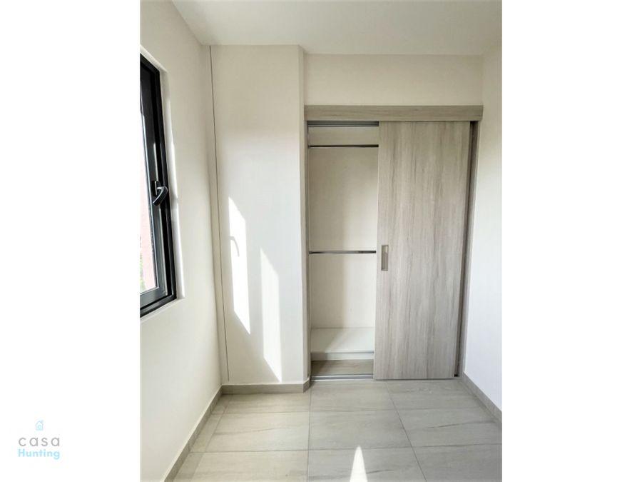 apartamento en renta col san ignacio 2 hab