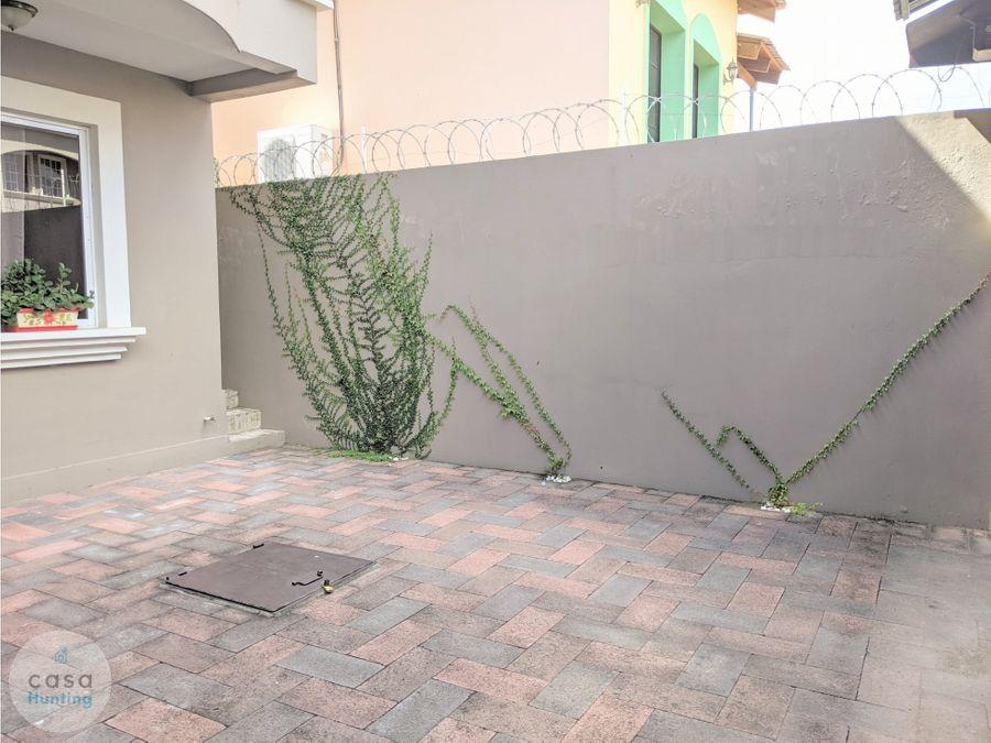 alquiler de townhouse palmeras san ignacio 3 hab
