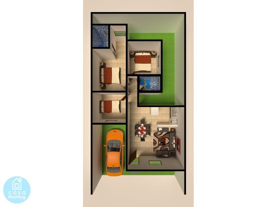 casa en pre venta res las casitas