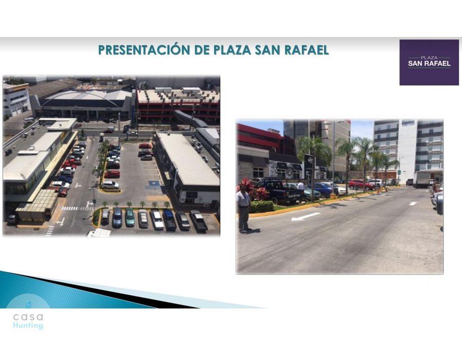 local comercial en plaza san rafael lomas del mayab 9548m2