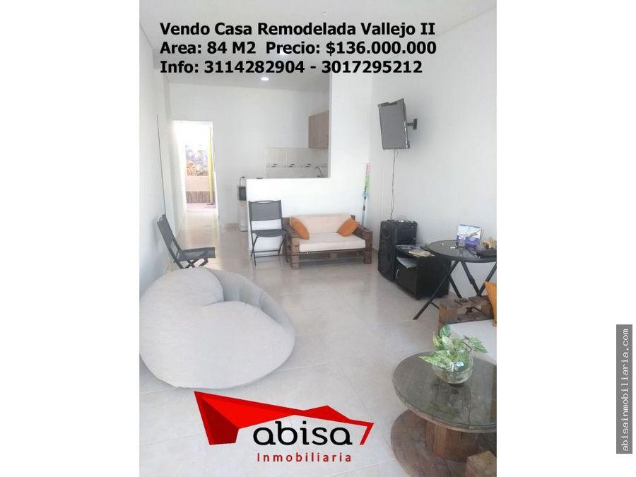 casa remodelada en vallejo ii con 3 habitaciones