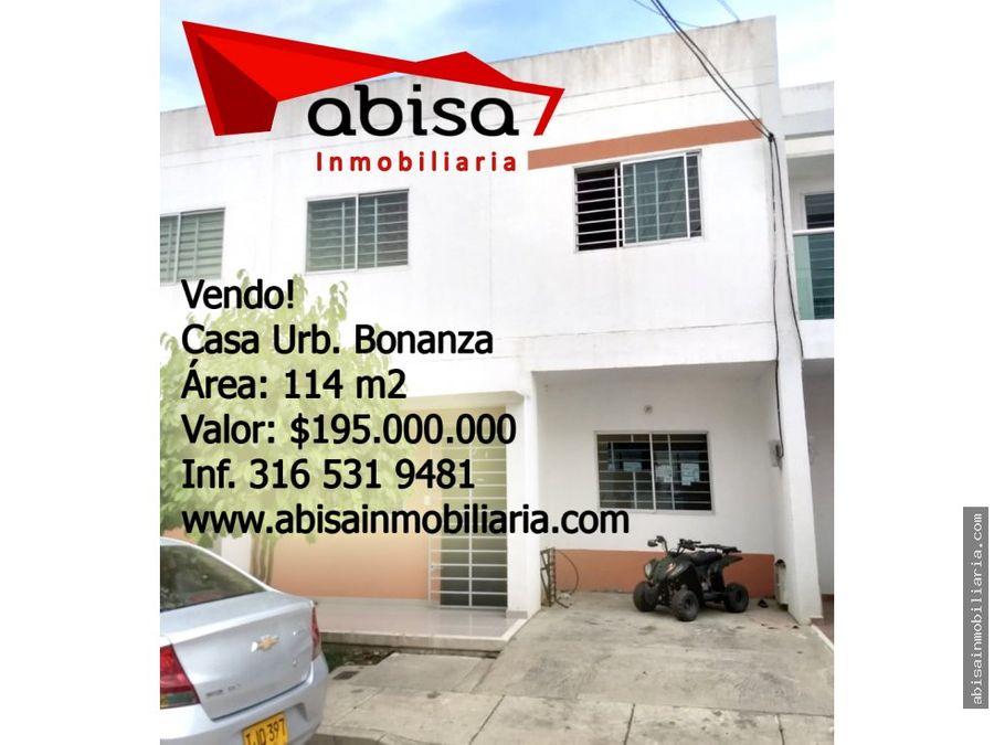 casa urb bonanza