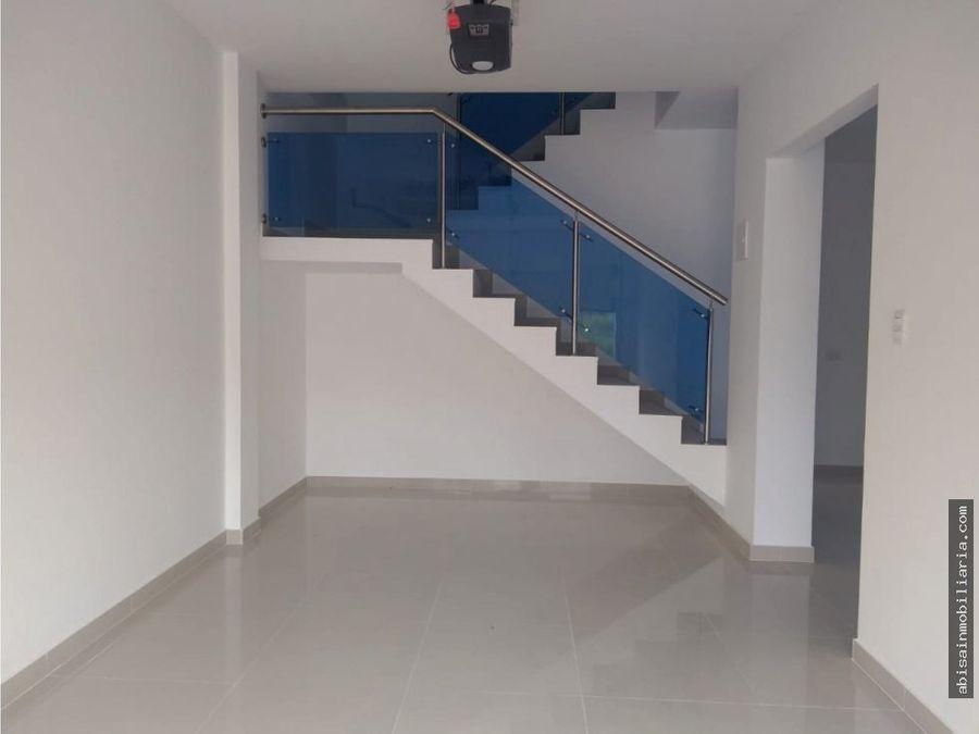 casas estrenar 2 pisos en villanova