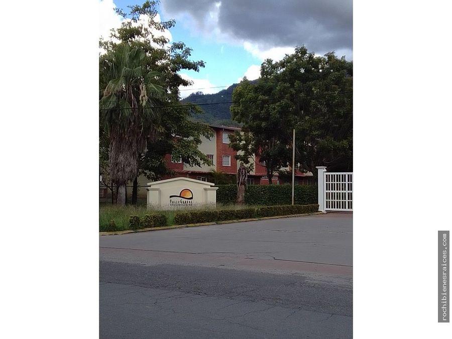 venta apartamento valle grande