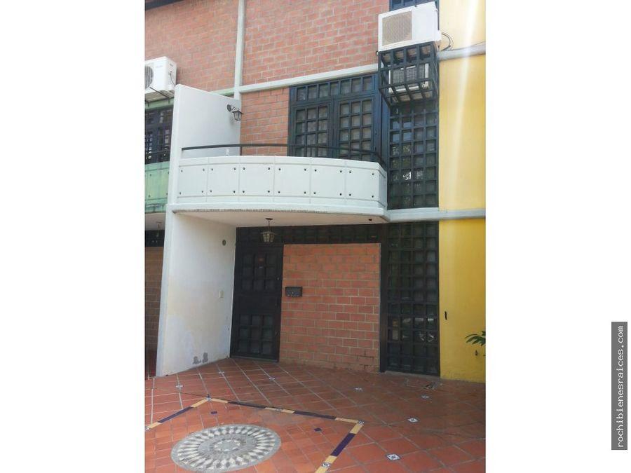 town house resd las terrazas urb nueva casarapa