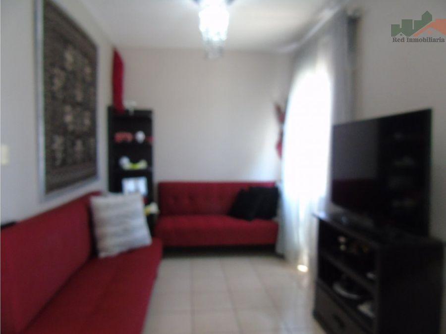 apartamento amueblado en residencial los hidalgos