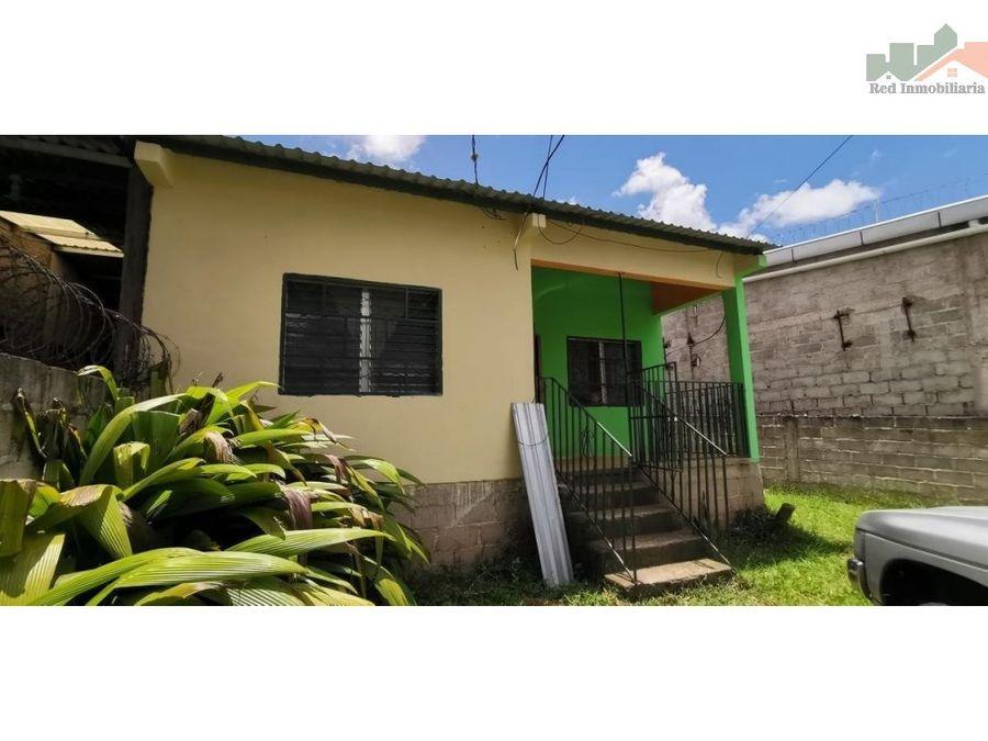 venta de casa en cerca del centro de siguatepeque