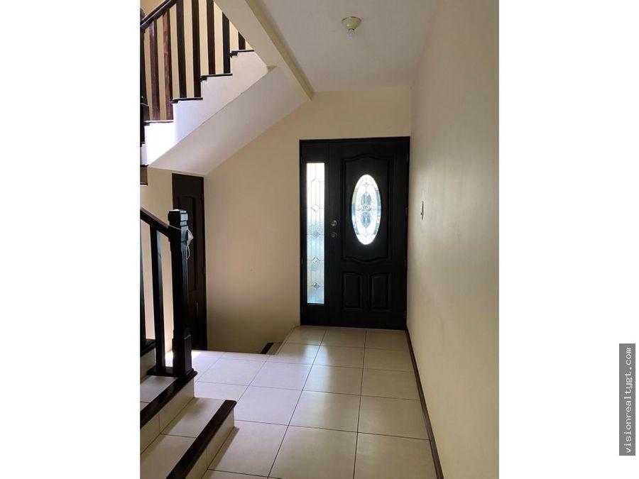 venta de casa en canadas del encinal zona 7 de mixco