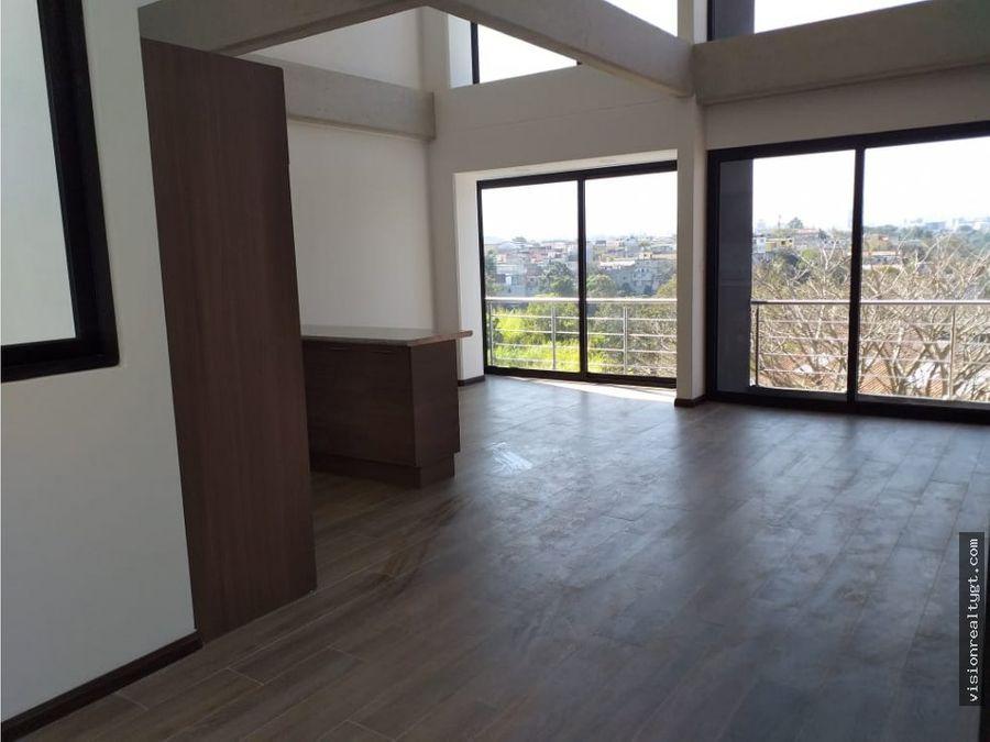 apartamento en renta y venta de 2 habitaciones zona 5
