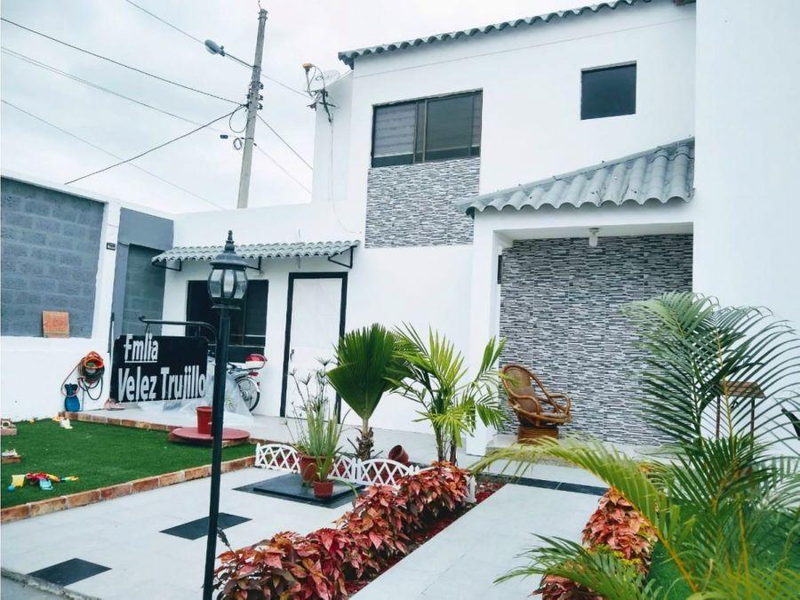 casa de 4 habitaciones en venta en urb privada