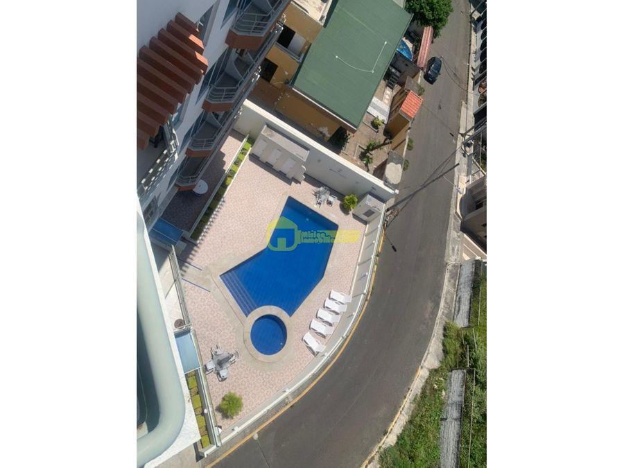 se vende hermoso departamento dentro de urbanizacion privada