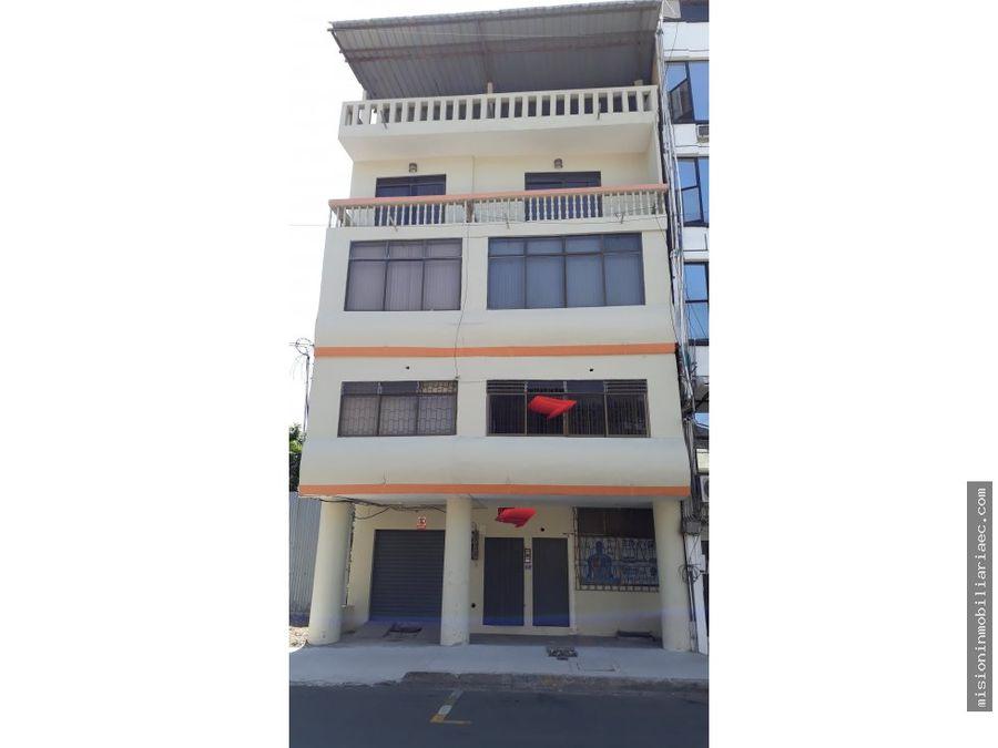 se vende edificio de 4 pisos en la calle 13