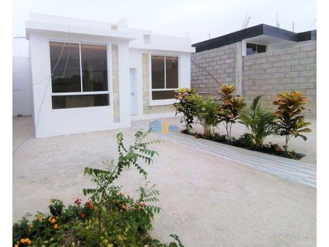 nuevo proyecto de casas al norte de manta