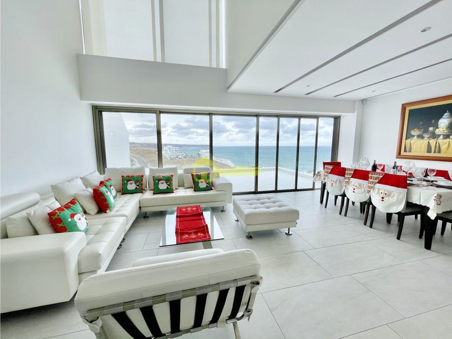 en renta propiedad moderna con vista al mar