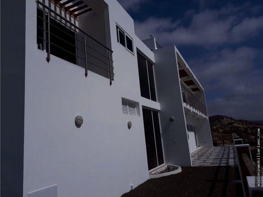 se alquila casa de playa en santa marianita manta
