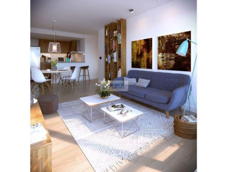 venta de apartamento 1 dormitorio en tres cruces