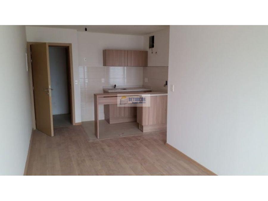 venta de apartamento 1 dormitorio la blanqueada